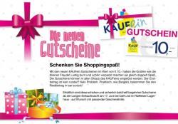 Hollabrunn - KAUFein Gutscheine!